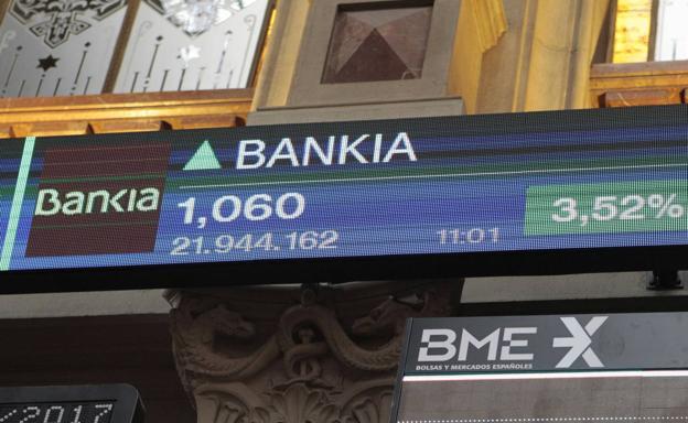 2018-01-12 La Verdad-Los accionistas de BMN reciben los títulos de Bankia